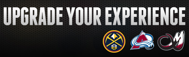Upgrade Your Experience Pepsi Center