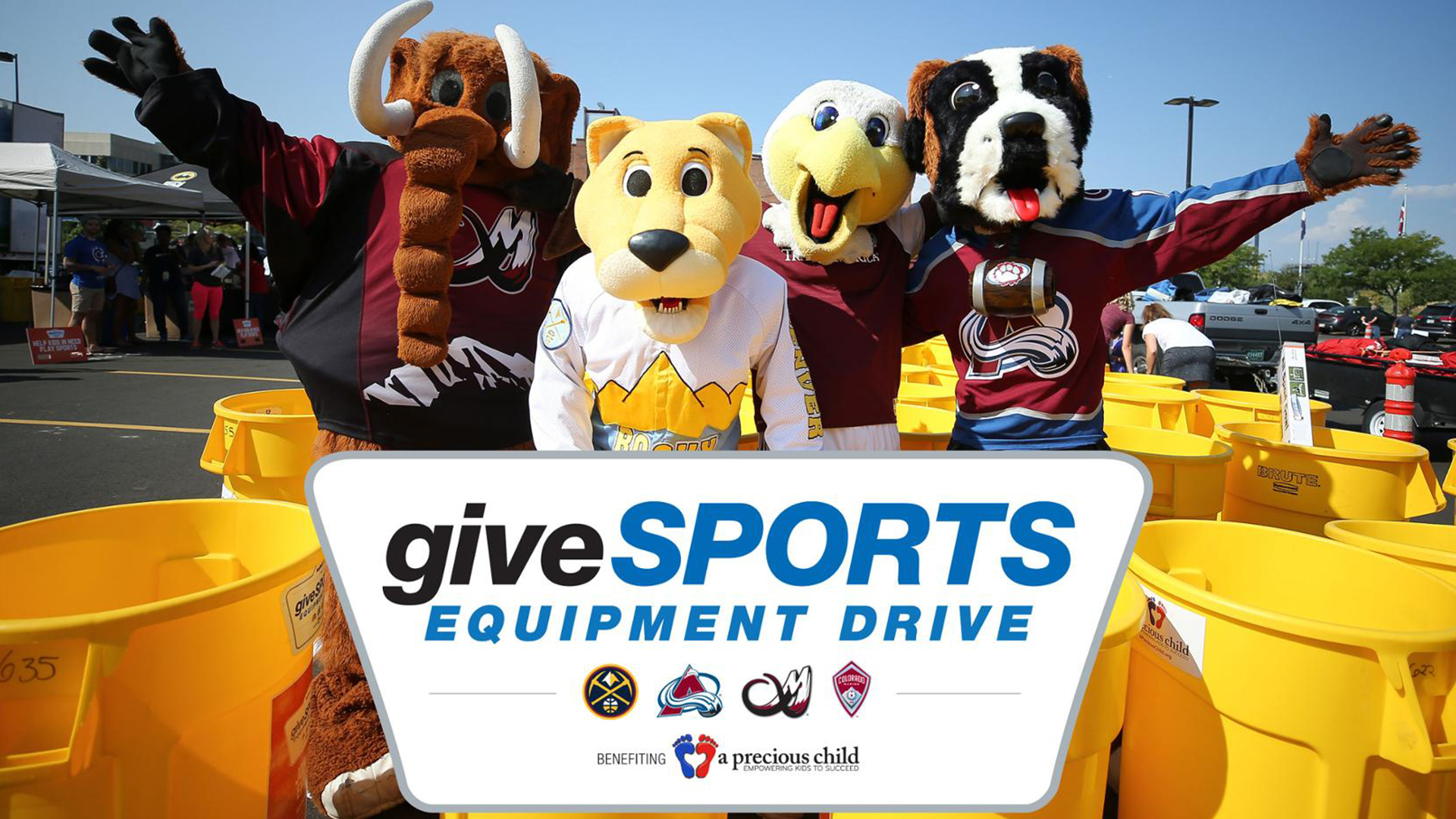 EIGHTH ANNUAL GIVESPORTS DRIVE | Pepsi Center